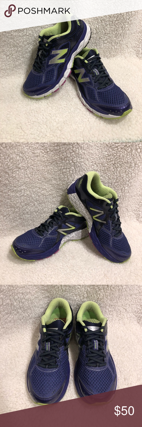New Balance 860 Running shoe The 860 is