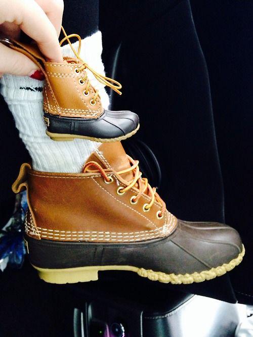 Bean Boot Keychain Season Autumn Bean Boots Duck