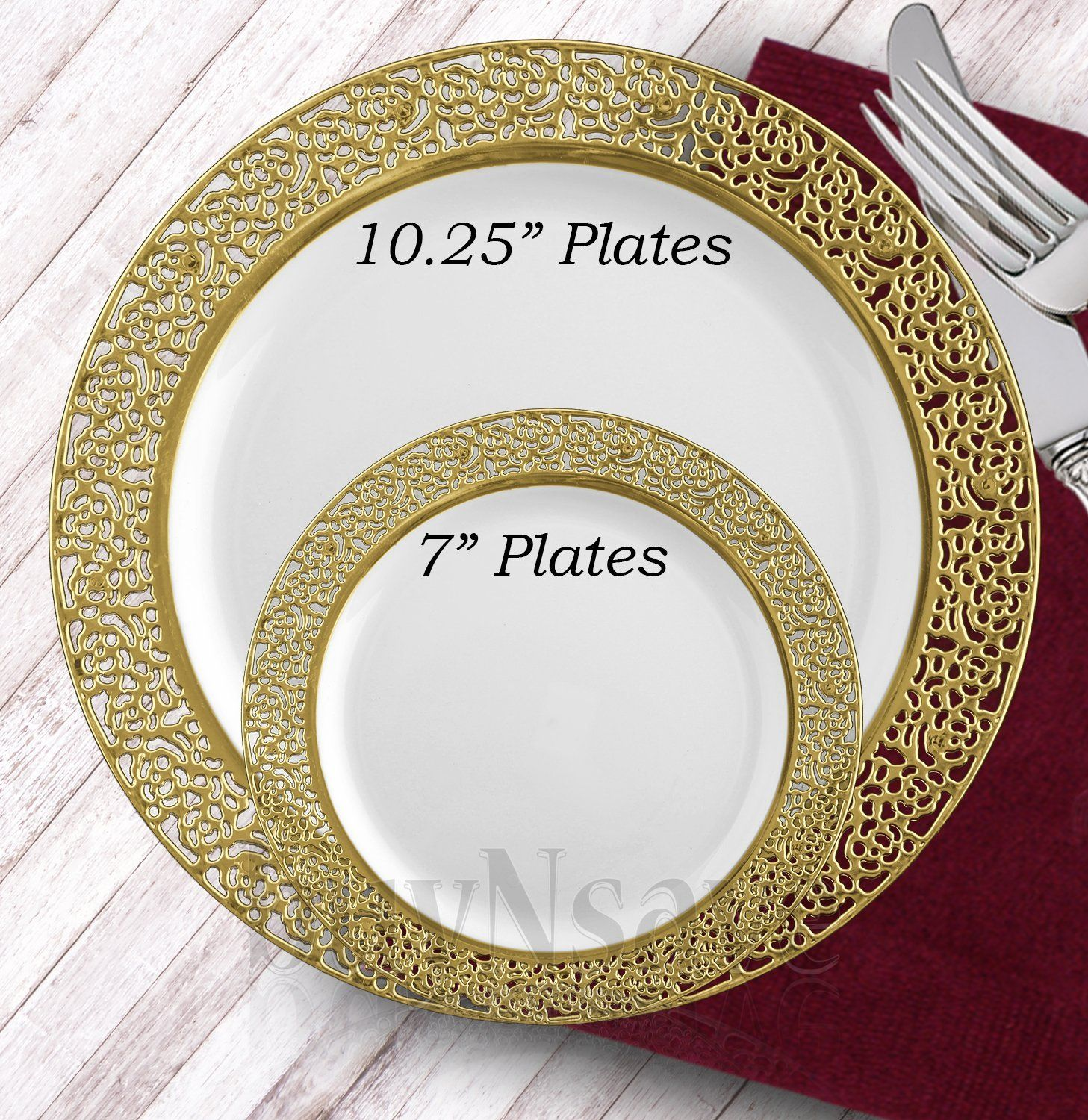 11+ Wedding paper plates in silver information