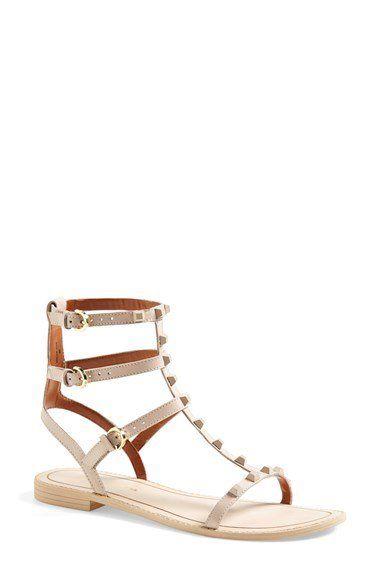 abb70d8c0f0 Rebecca Minkoff  Georgina  Studded Leather Sandal (Women ...