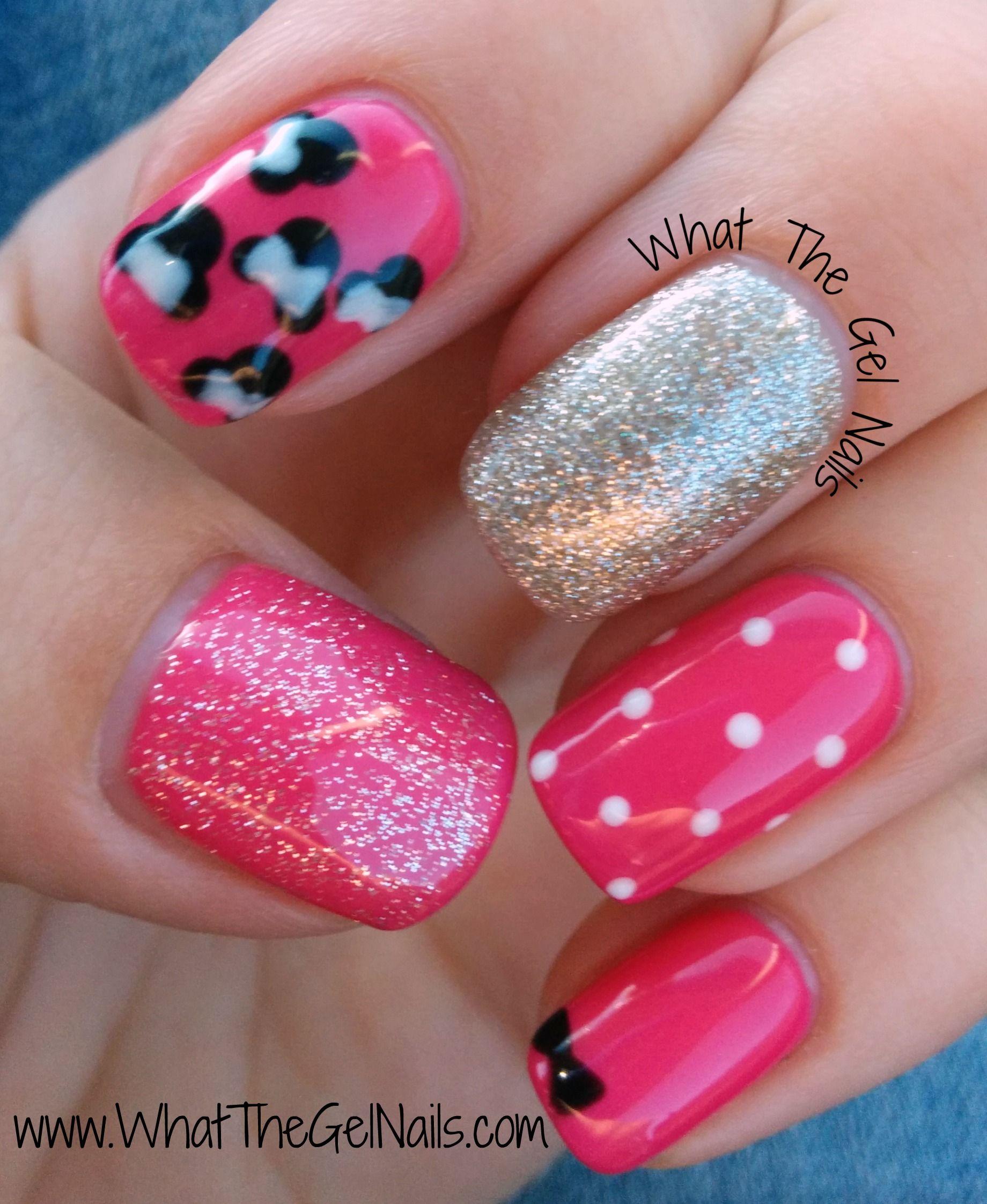 Disney Gel Polish Manicure - Nails   Pinterest