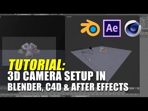 Use After Effects 3d Camera Tracker In Blender Youtube Blender