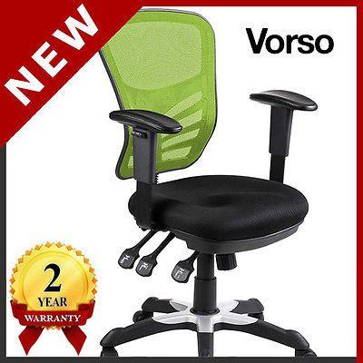 new vorso ergonomic computer mesh office chair green   ebay   lime