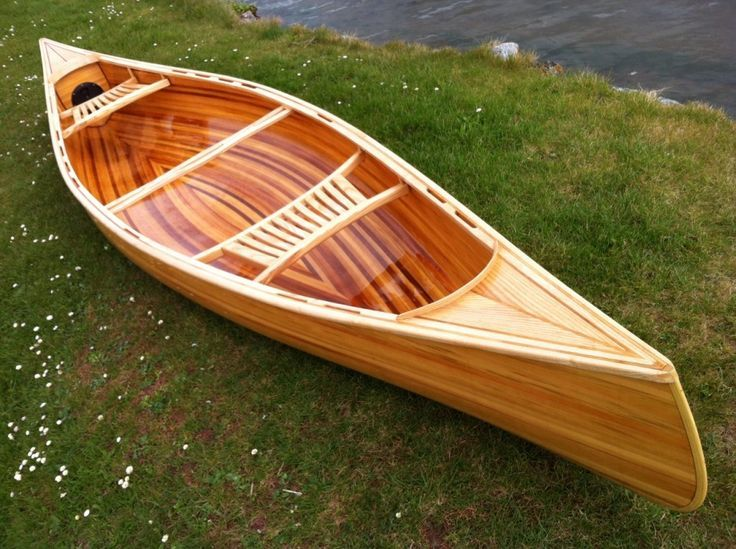 Building A Cedar Strip Canoe Can Be Lot Of Fun With The Help This