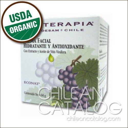 Antioxidant And Moisturizing Facial Cream With Vitis Vinifera Grape Extract Grape Seed Oil By Uvaterapia Moisturizing Facial Cream Grape Extract Facial Cream