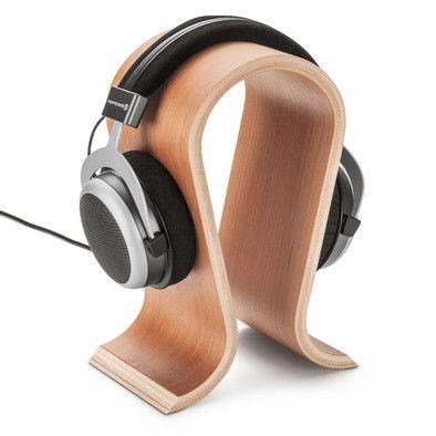 Cherry-wood Headphone Stand - Manufactum