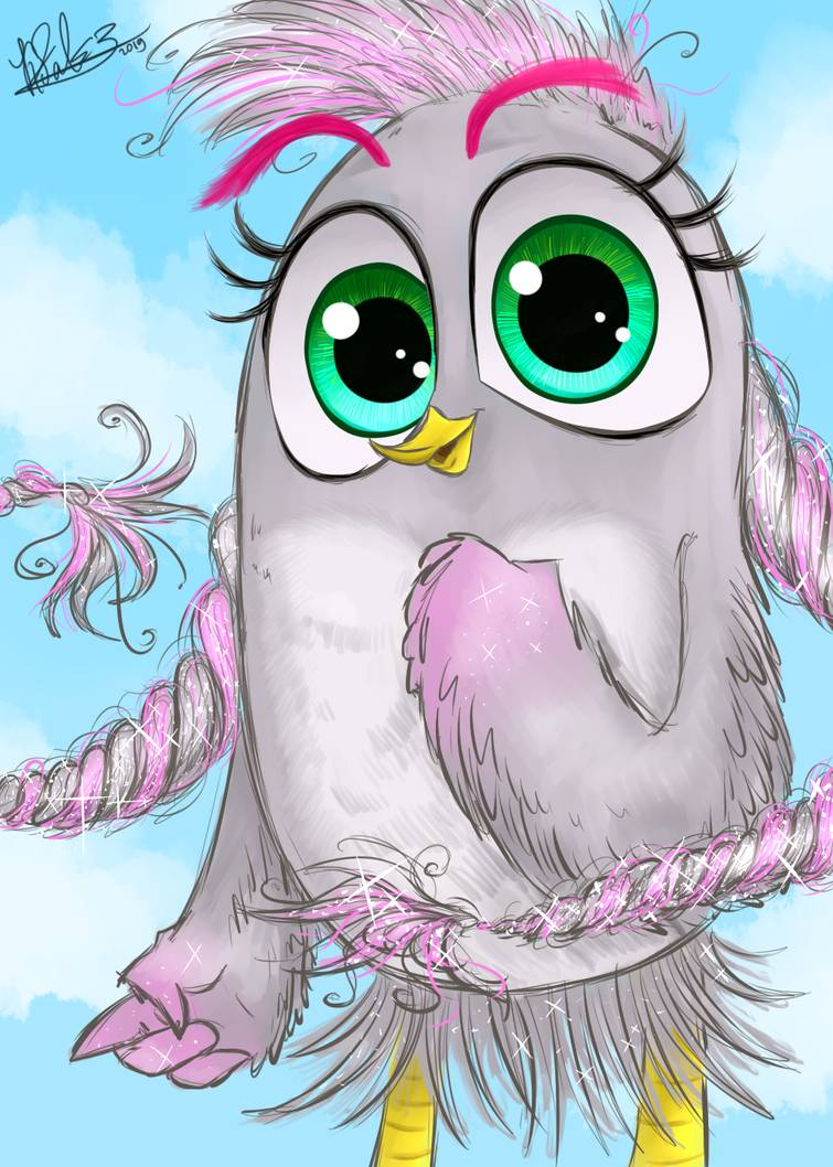 Silver From The Angry Birds Movie 2 By Katthefalcon On Deviantart
