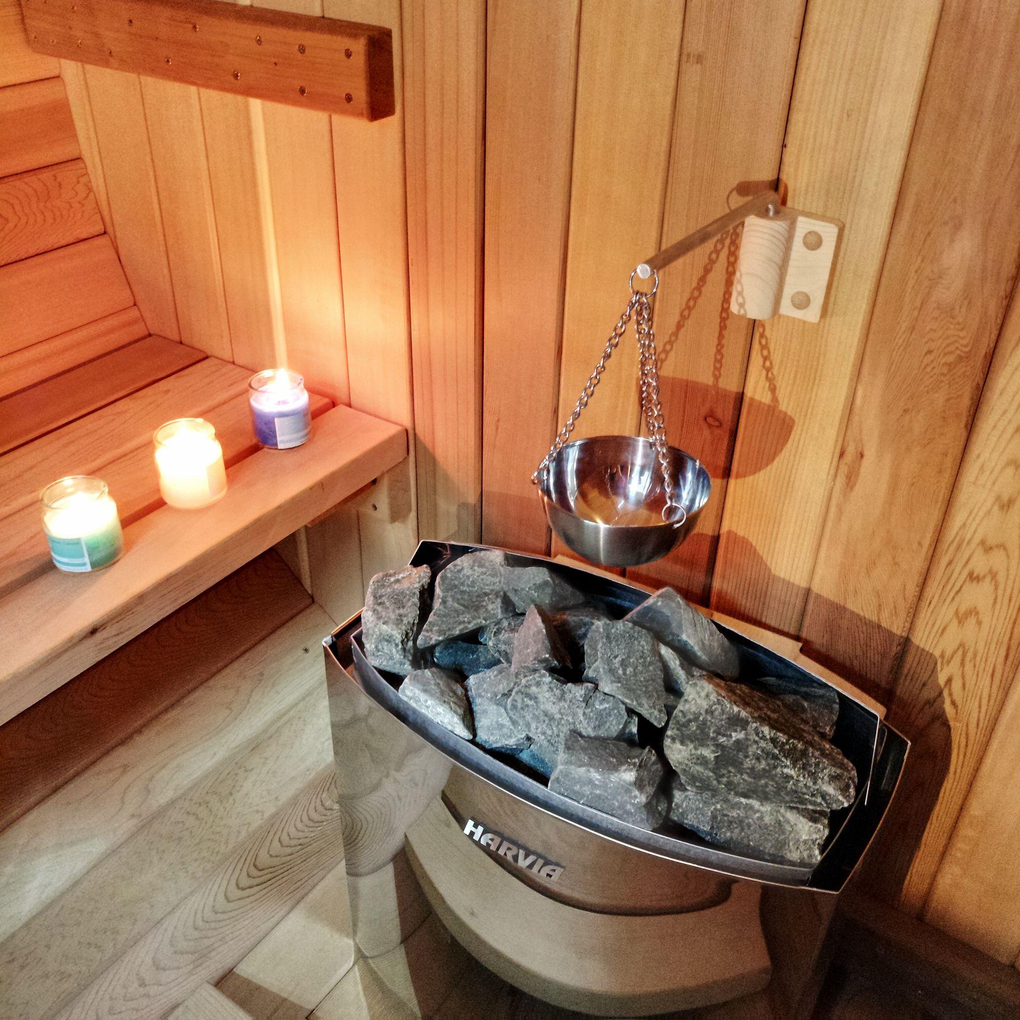 Sauna Poele Electrique poêle électrique fourni et installé par la marque de saunas växjö