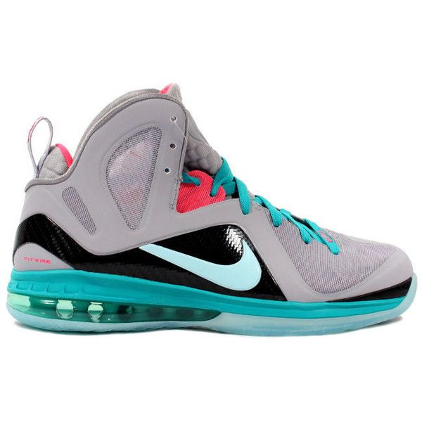 Kixclusive - Nike Lebron 9 P.S. Elite South Beach ( 700) ❤ liked on  Polyvore featuring shoes 21225a8892