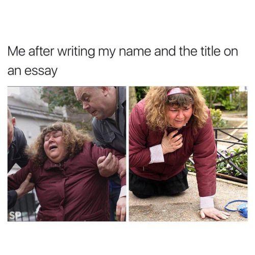 Write my essay for me joke