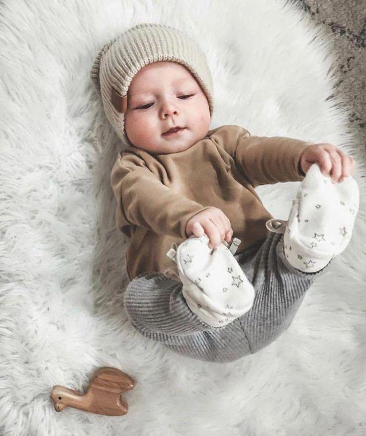 Gorgeous Boho Baby Beanie
