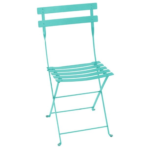 Fermob Bistro Metal Chair Lagoon Blue Outdoor Furniture Outdoor Finnish Design Shop Metal Bistro Chairs Outdoor Chairs Bistro Chairs