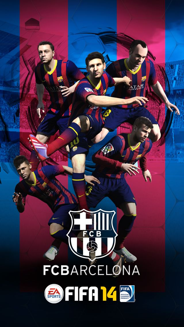 Fifa 14 barcelona iphone 5s wallpaper iphone se wallpapers fifa 14 barcelona iphone 5s wallpaper voltagebd Images