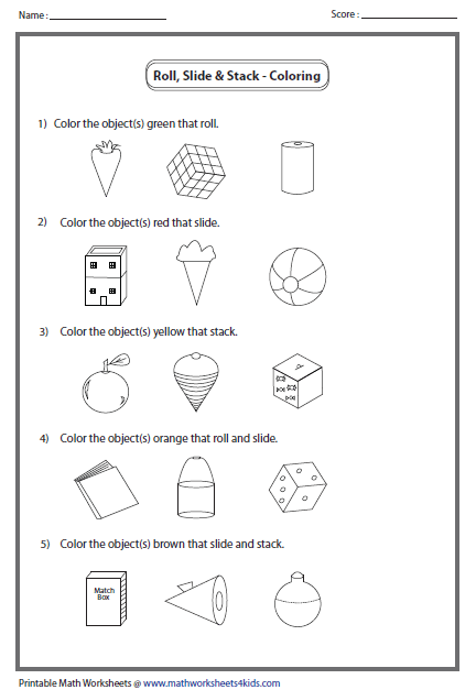 Coloring Object Educational Ideas Pinterest Math Worksheets