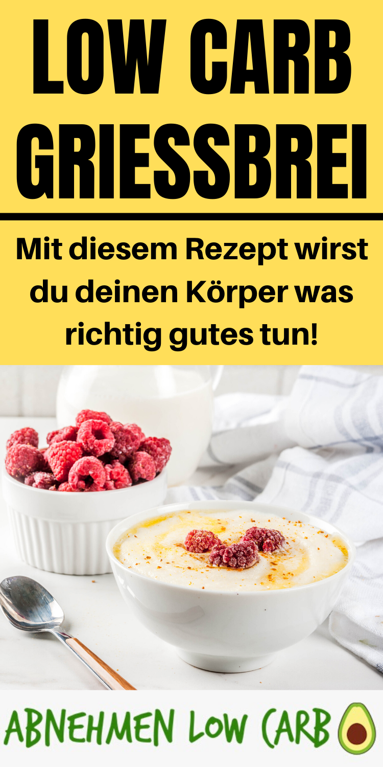 Low Carb Grießbrei