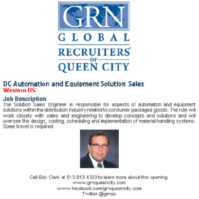 Dc Automation And Equipment Solution Sales Western Us Grn Queen