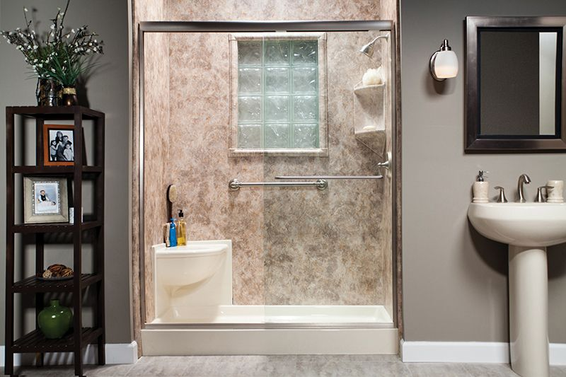 Replacement Shower Bases Photos Toledo, OH | Shower Liners | Bath ...