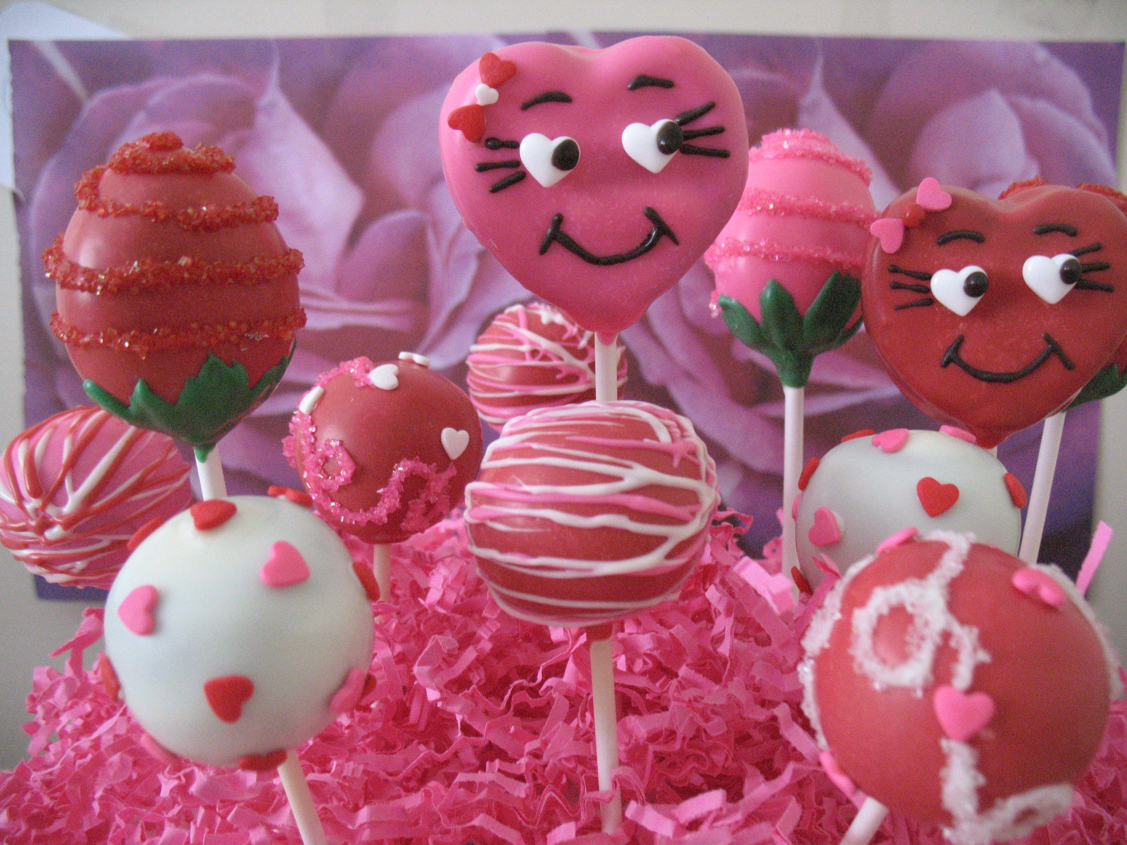 Valentine S Day Cake Pop Ideas Valentines Cakepops Sweetthingz
