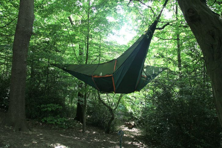 Tentsile Treehouse Tents Provide a Safe Haven in the Treetops! & Tentsile Treehouse Tents Provide a Safe Haven in the Treetops ...