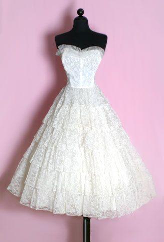 10  images about vintage dresses on Pinterest - Vintage wedding ...