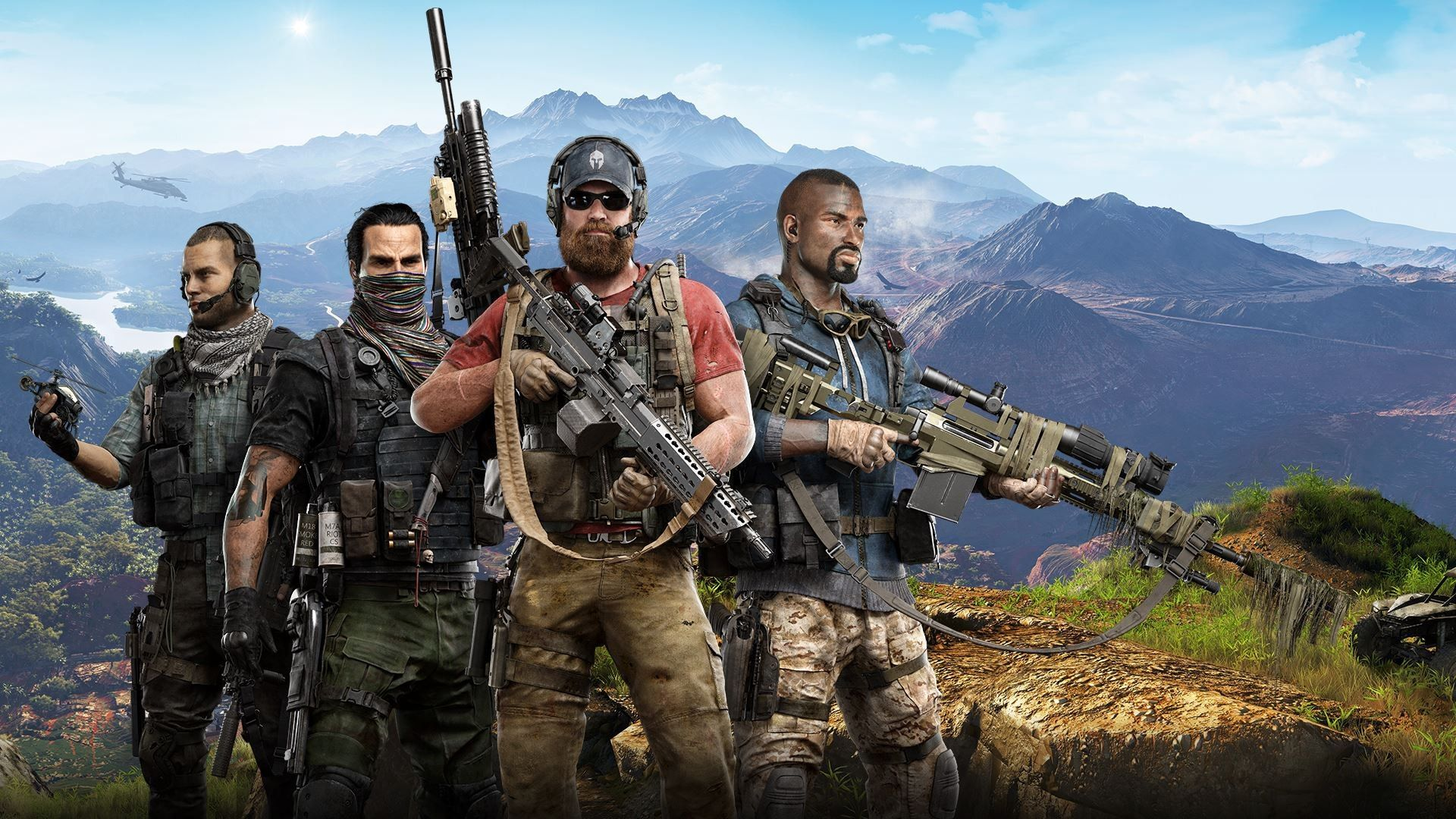 Tom Clancy's Ghost Recon Wildlands wallpapers cool HD