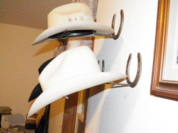 Estante de sombrero de vaquero de herradura Herraduras 477ce8f3d51