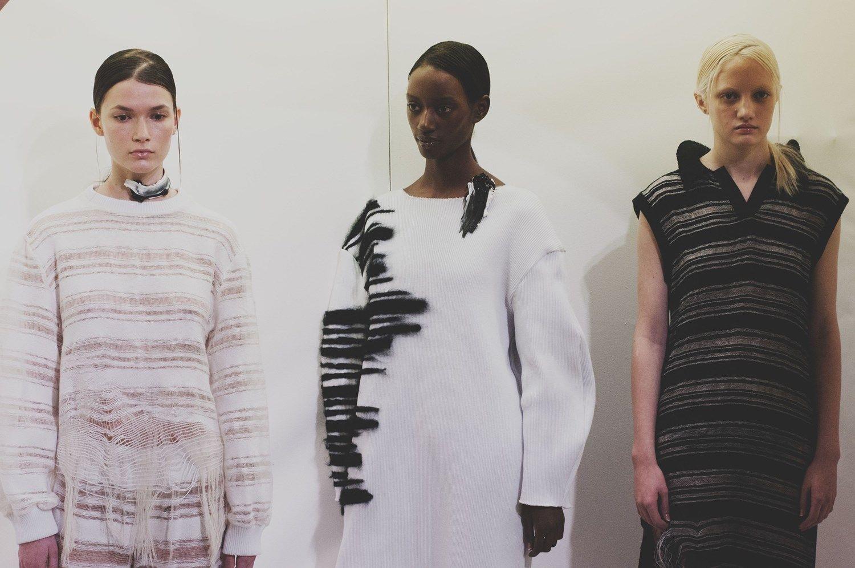 Faustine Steinmetz AW15, Womenswear, Denim, Stitching   Photography Philip Trengove
