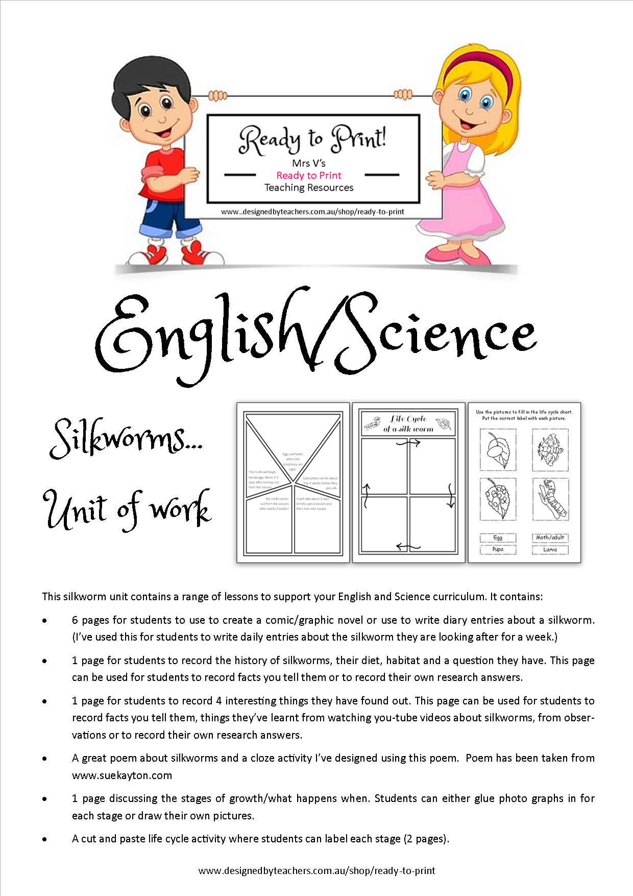 worksheet Silkworm Life Cycle Worksheet silkworms unit life cycle graphic novel and poem students dbt including cycles a that can write about