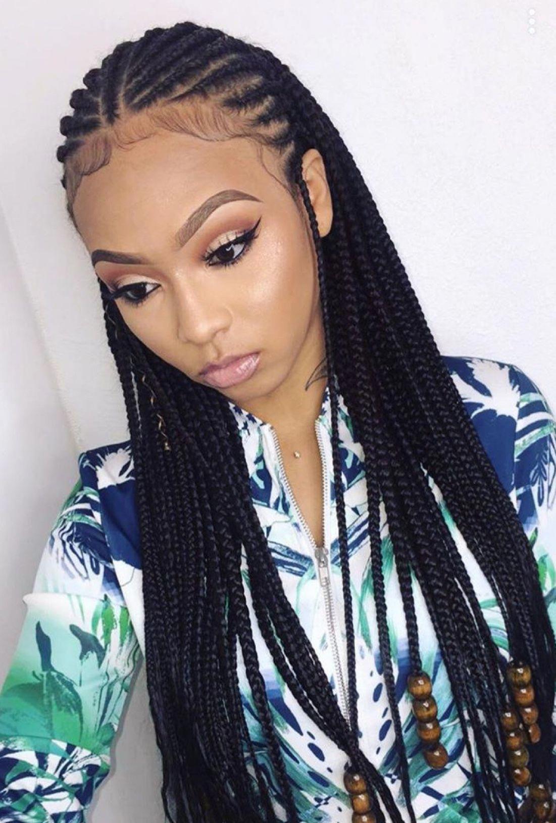 #braidsshortgirlhairstyles   Cornrow hairstyles