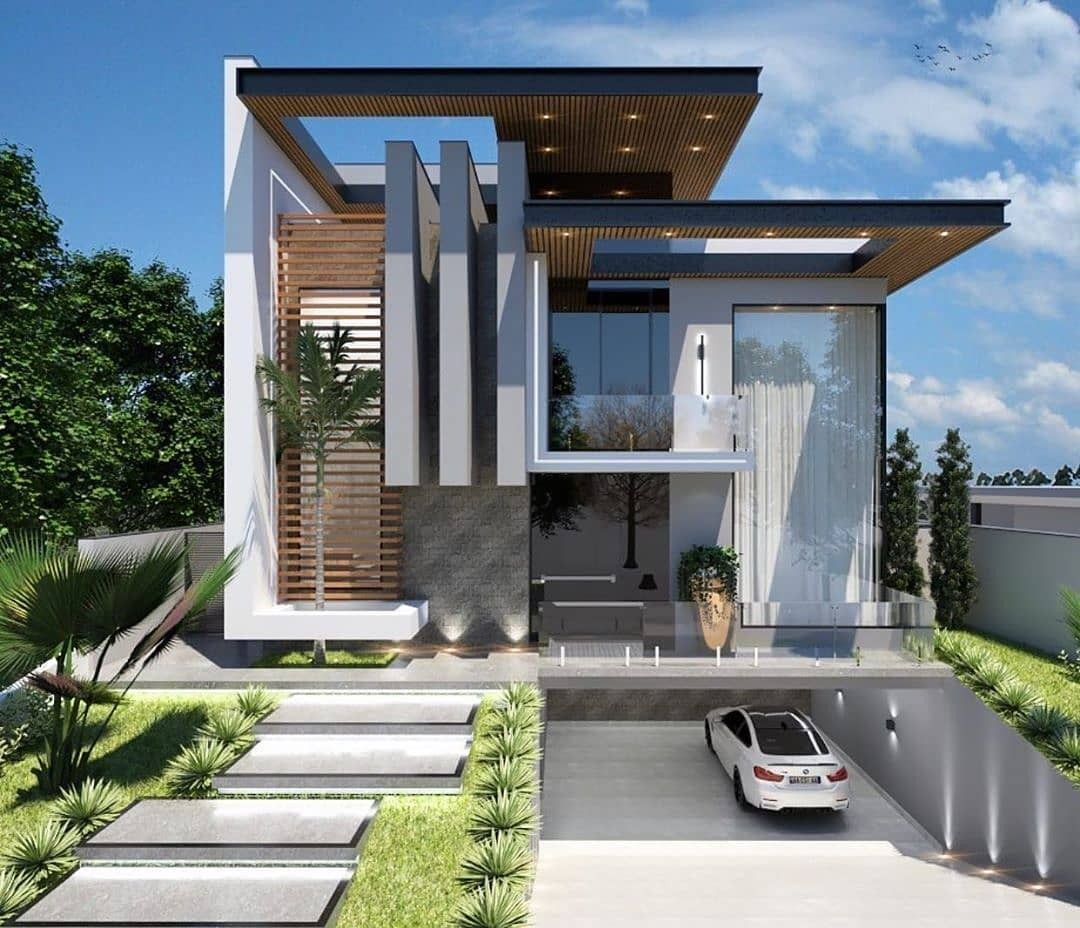 Top Beautiful Exterior House Designs Ideas To See More Read It In 2020 Architecture House House Design House Exterior