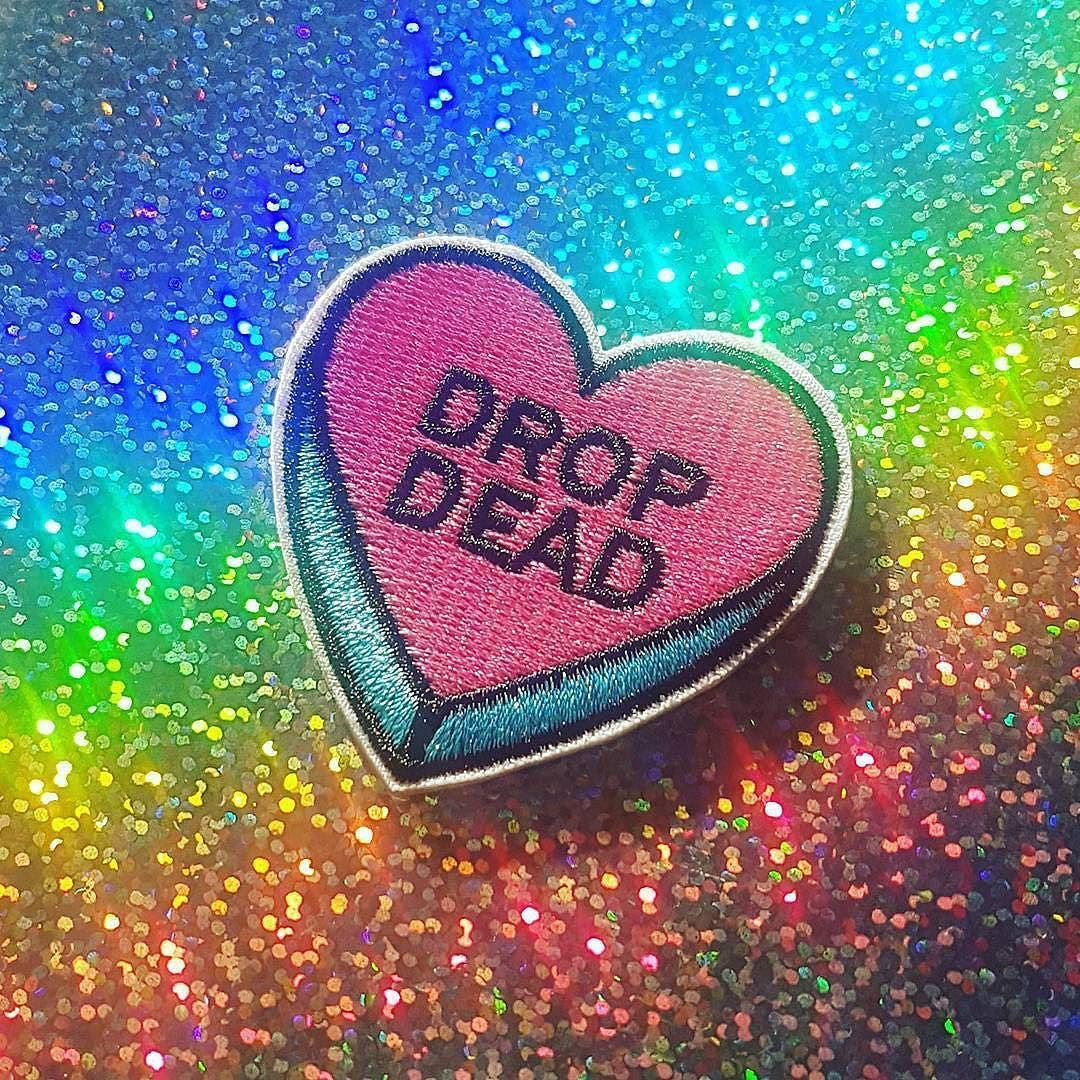 #Repost @anti_apparel When you realise valentine's day is fast approaching.. http://ift.tt/2katZVw Store link in bio (Posted by https://bbllowwnn.com/) Tap the photo for purchase info. Follow @bbllowwnn on Instagram for great pins patches and more!