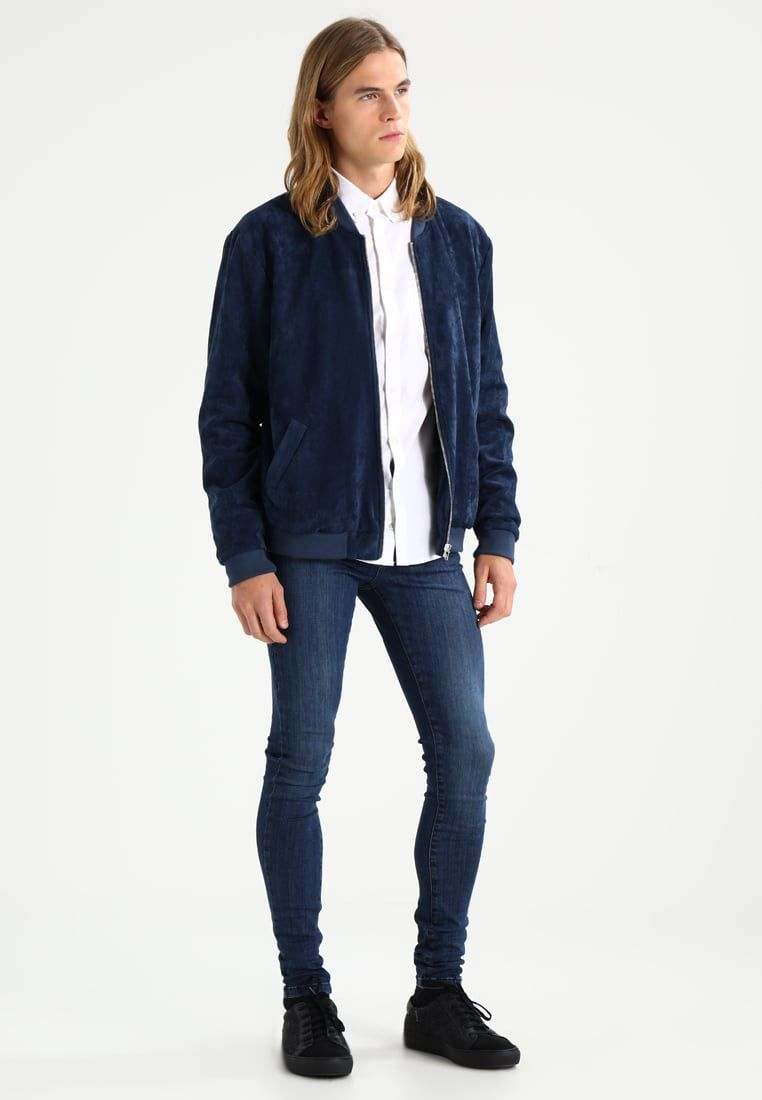 Burton Menswear London SKINNY FIT - Camisa informal - blue g2B4u
