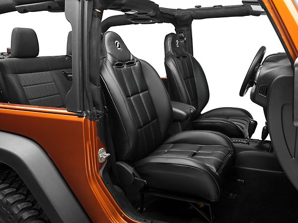 Replacement Seats For The Jeep Corbeau Wrangler Baja Rs Black