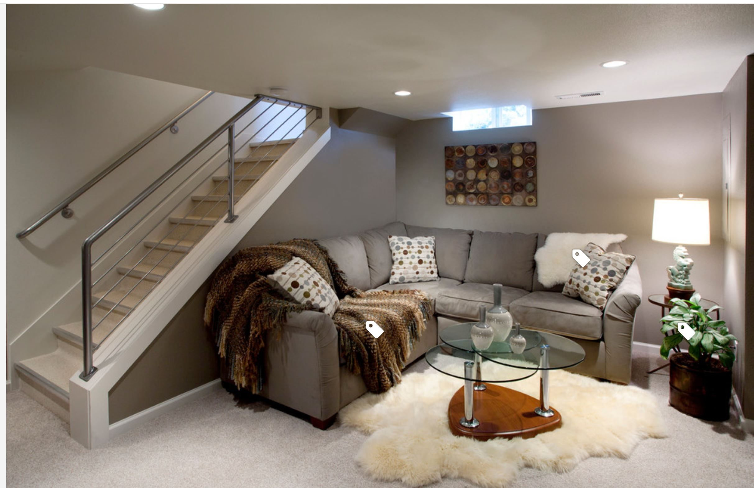 Useful Tips For Creating A Beautiful Basement Bedroom Interior -