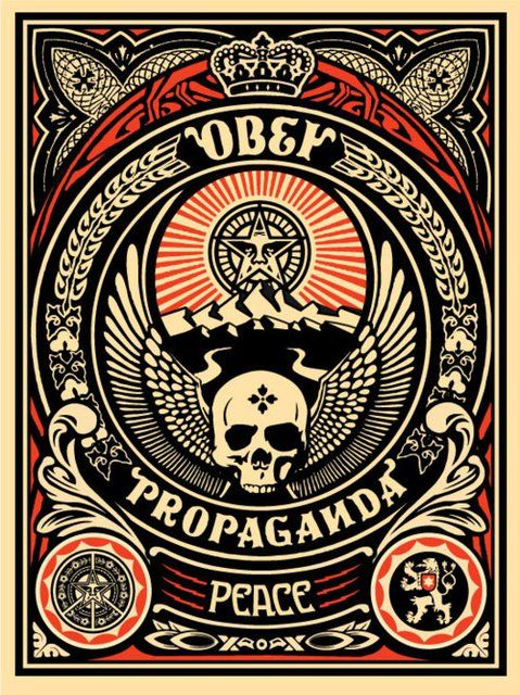 Obey Propaganda  *Lots of cool stuff in this one, especially the skull and the Filigree