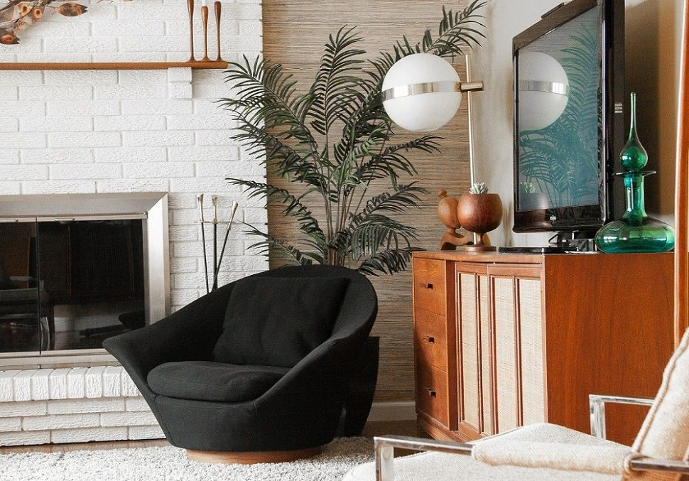 Iconic Mid Century Milo Baughman 812 Swivel Chair For Thayer Coggin Living Room Inspo Mid Century Living Vintage Chairs
