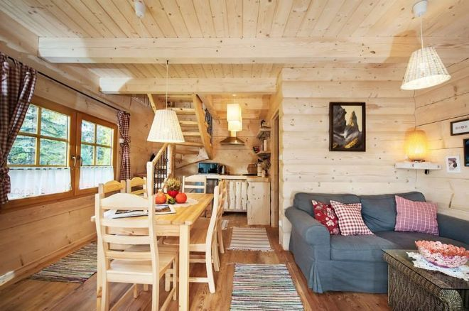 Stunning Gate Lodge By The Little Log House Company Log Homes Small Space Living Little Log Cabin