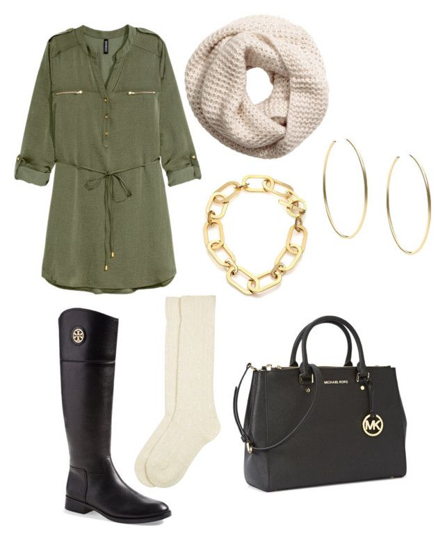 """""""FALL """" by marionamelia ❤ liked on Polyvore featuring мода, H&M, Tory Burch, Monsoon и Michael Kors"""