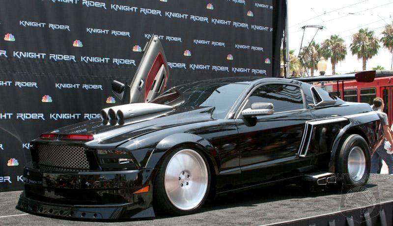 Kitt Recreated Latest Knight Rider Shelby Gt500kr Cars Movie Knight Rider Tv Cars