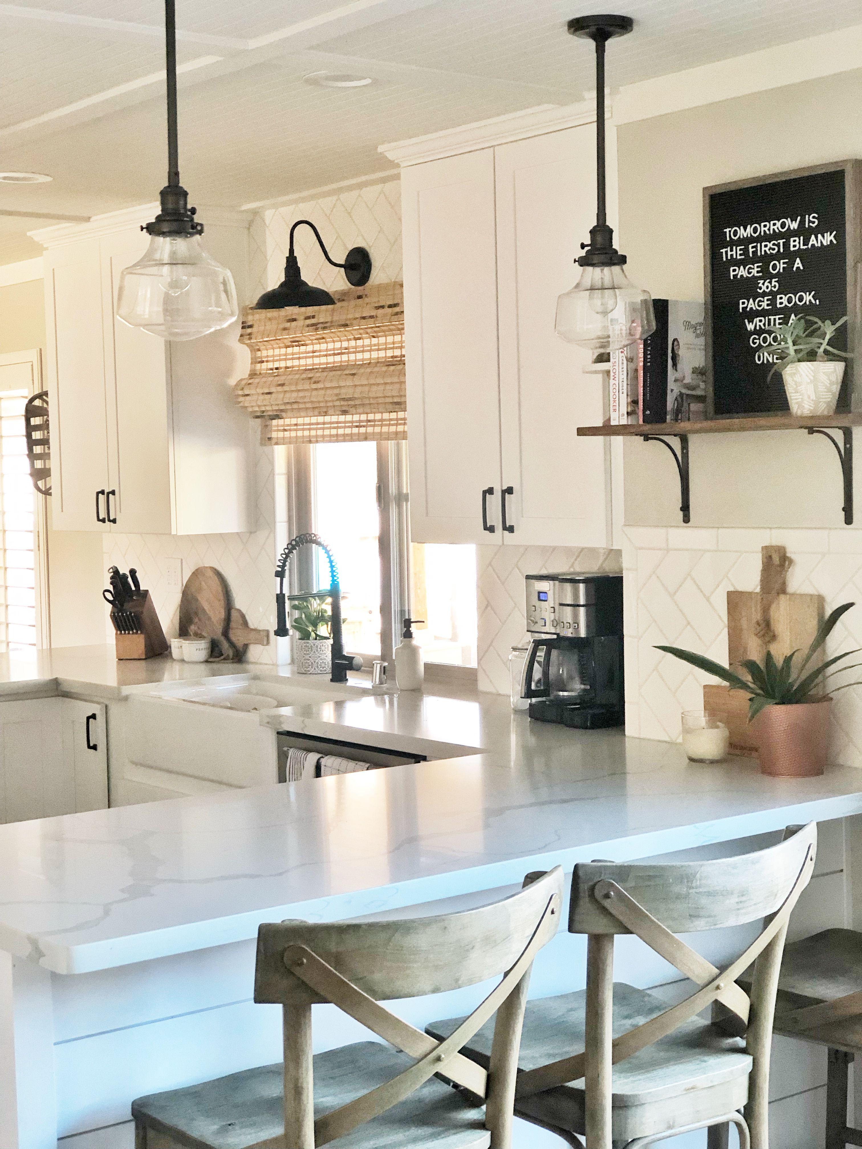 u shaped farmhouse kitchen | home kitchens, farmhouse style kitchen