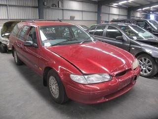 1997 Ford Red El Falcon Gli Wagon 4 0l4 Speed Automatic Only