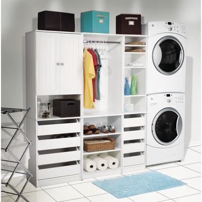 Perfect Home Essentials Closet Storage Wide Tower