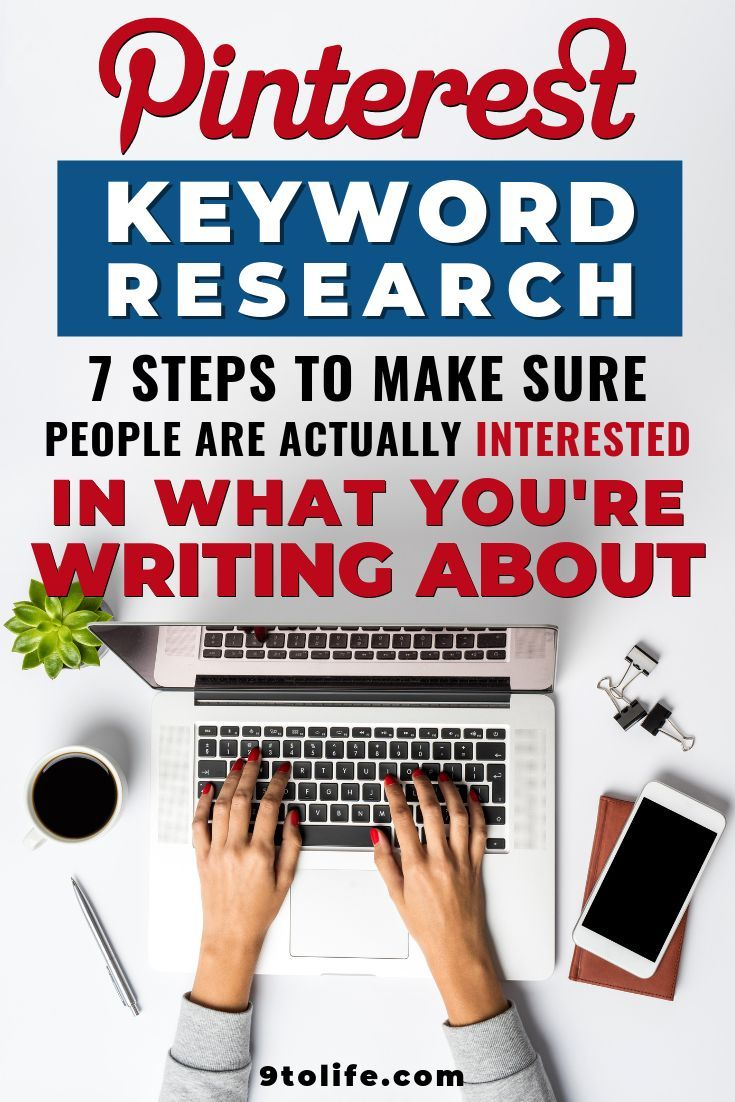 [Case Study] 7 Steps To Finding Profitable Blog Post Ideas for Beginners (Using Pinterest Keyword Research)