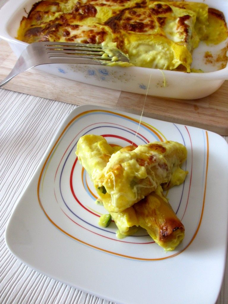 Cannellonis poulet courgette curry : Diet & Délices ...