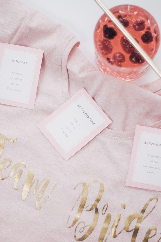 JGA IDEEN: Tabu-Spiel für den JGA oder die Brautparty zum
