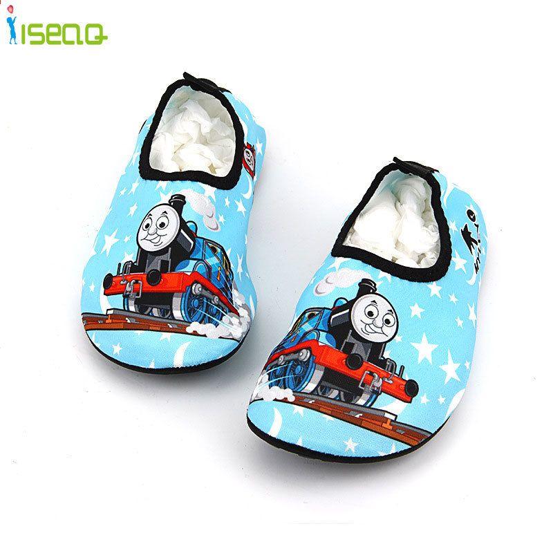 Dzieci Plywac Buty Kreskowka Oddychajace Drifting Antyposlizgowe Buty Do Pielegnacji Skory Sliczne Buty Plazowe Drukuj S Swim Shoes Childrens Shoes Beach Shoes