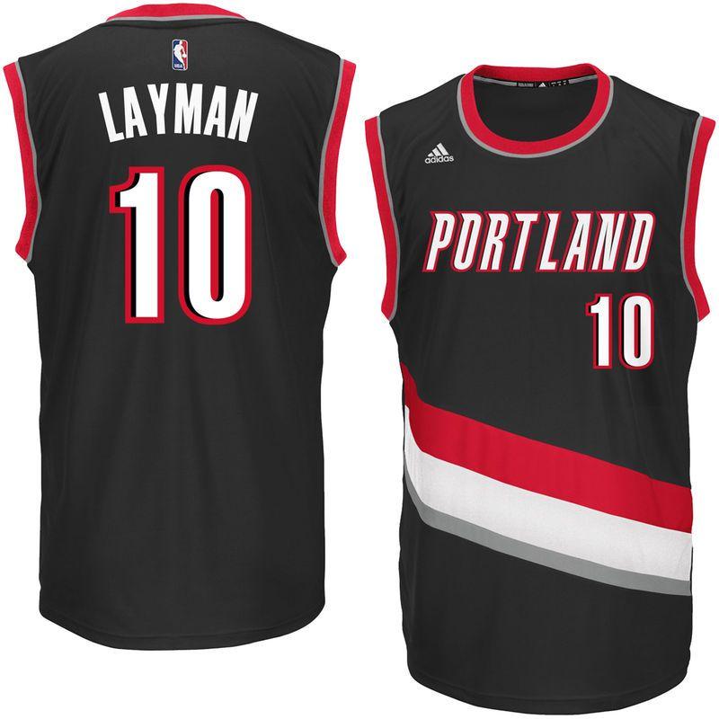 Jake Layman Portland Trail Blazers adidas Replica Road