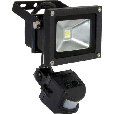 Led Pir Floodlight 10w Pir 820lm Outdoor Security Lights