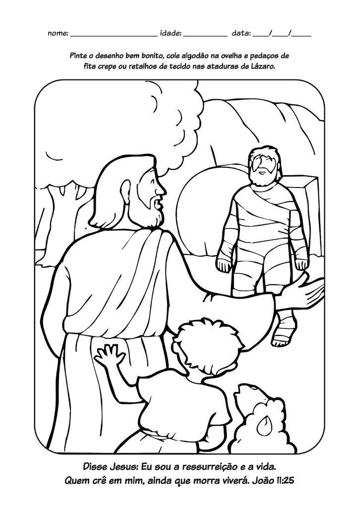 Milagres32 Jpg 724 1 024 Piks Desenhos Biblicos Para Colorir