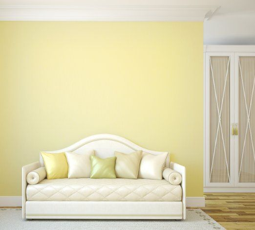 TemPaint: Removable Peel-and-Stick Wallpaper (Buttercream Yellow ...